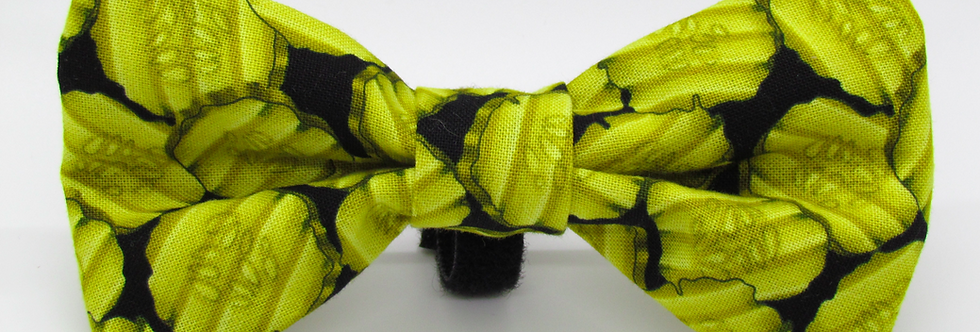 Pickles Dog Bow Tie