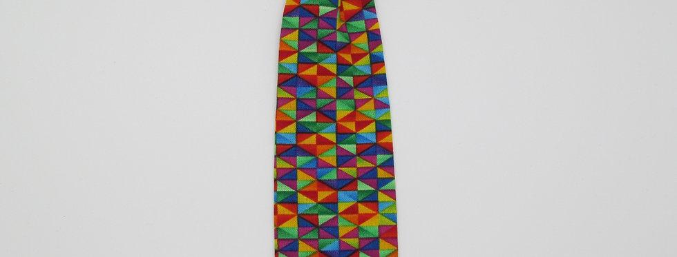 Kaleidoscope Dog Neck Tie