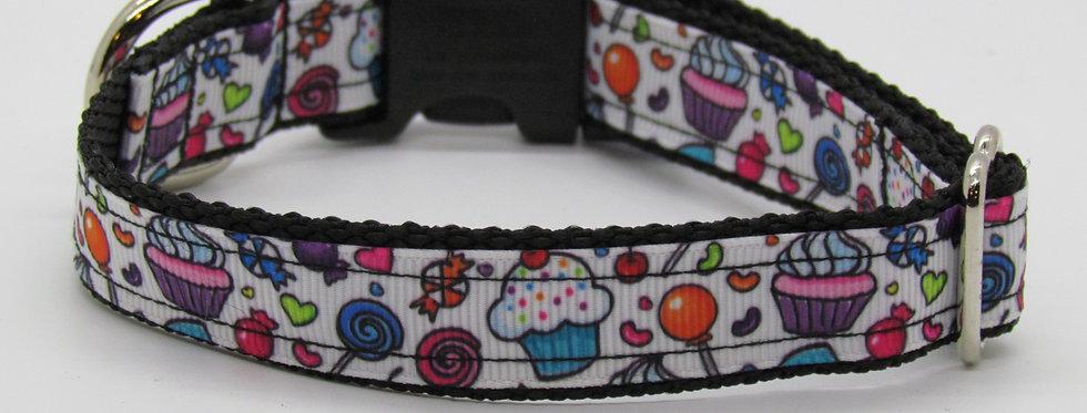 Small Cupcakes Dog Collar