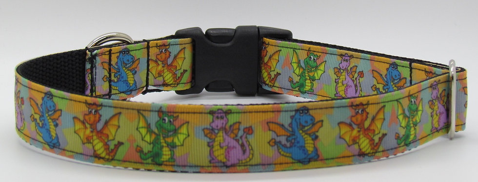 Dragons Dog Collar