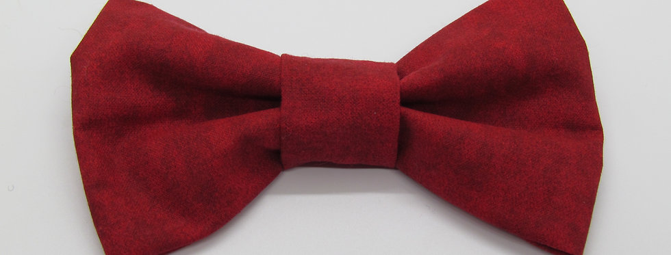Solid and Textured Dog Bow Tie (Various Colors)