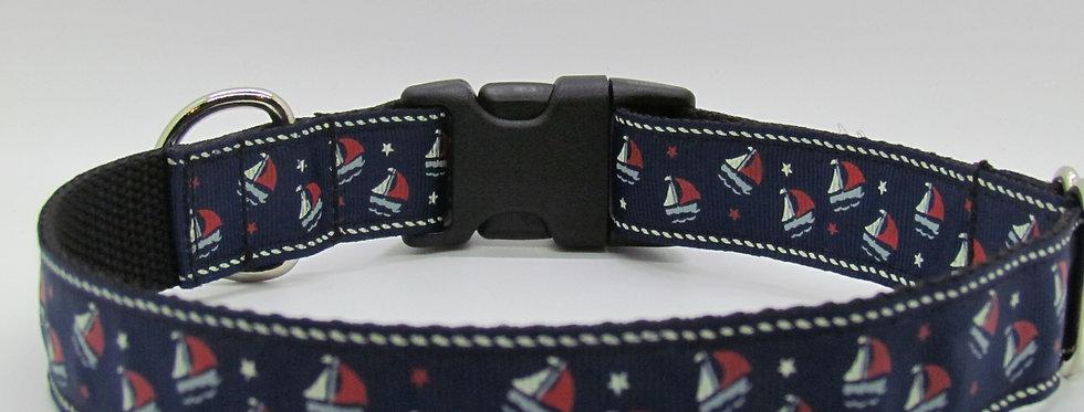 Sailboats Dog Collar
