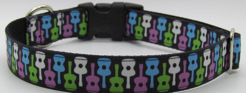 Guitars Dog Collar