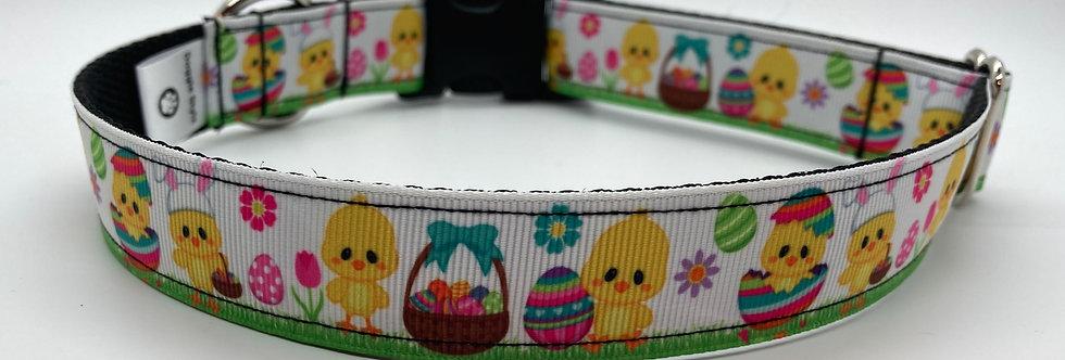 Easter Chicks Dog Collar