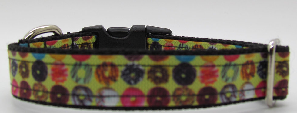Small Donuts Dog Collar
