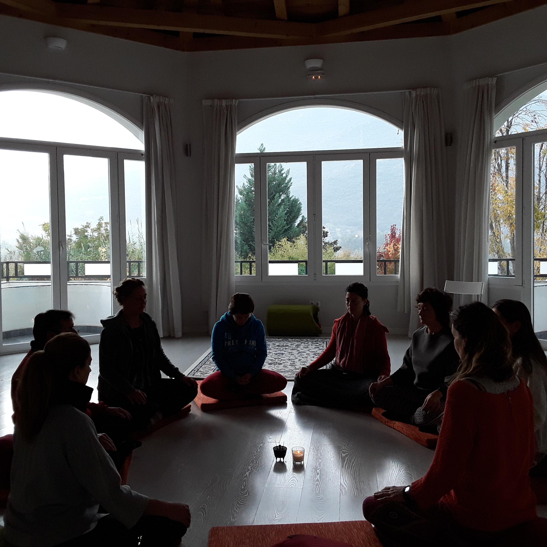 Grupo de meditación