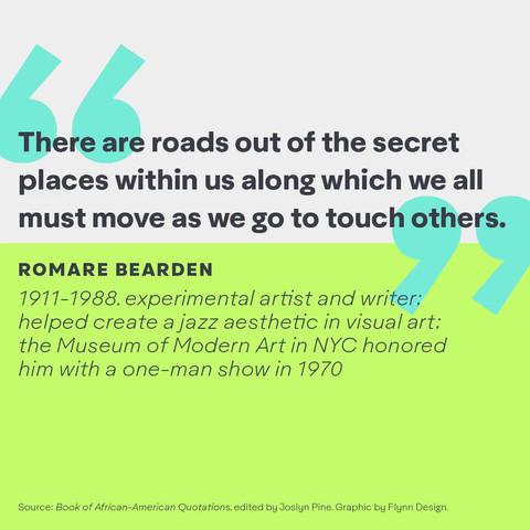 Romare Bearden quote