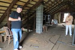 Baird House-attic1