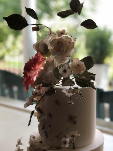 White Wedding Sugar Flowers