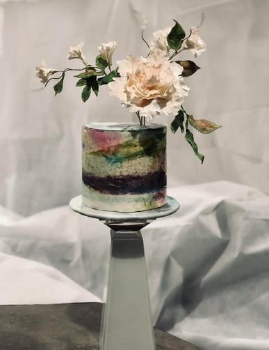 Ethereal celebration cake