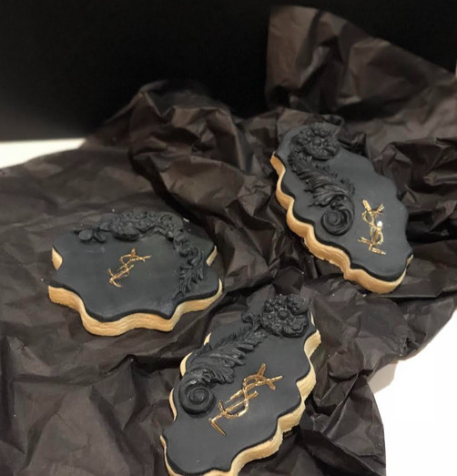 YSL Custom Cookie Launch Party