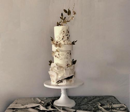 Ruffled Wedding cake Texture