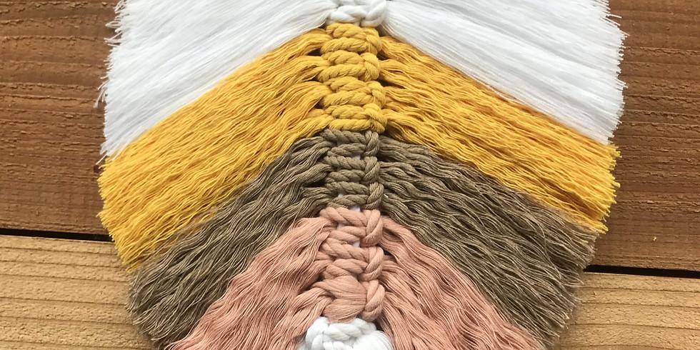 Kids Colourful Macrame Feather Workshop