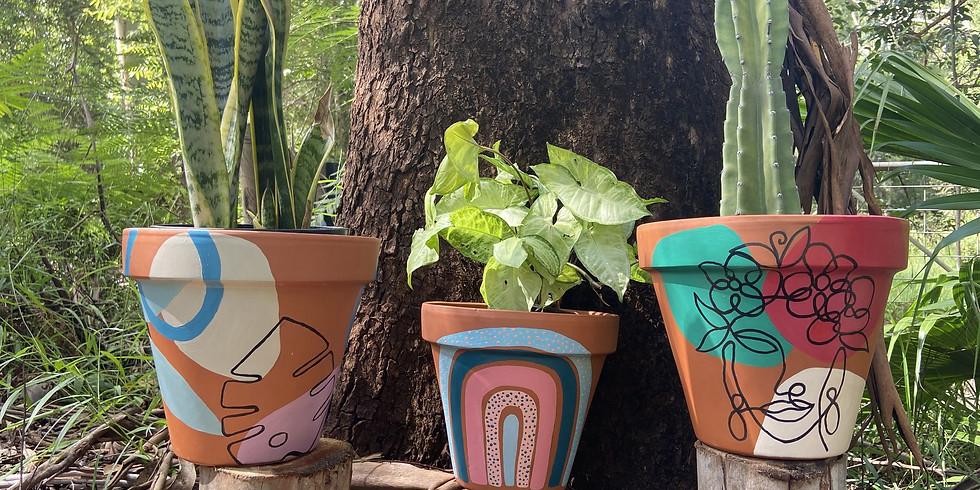 Painting Pots Workshop
