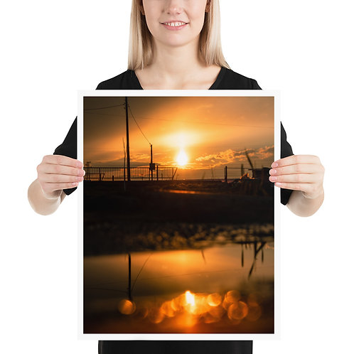 Holy Sunset Poster 16x20in - 40x50cm