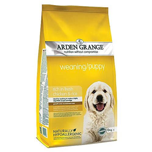 Arden Grange Weaning / Puppy - Rich in fresh chicken and rice