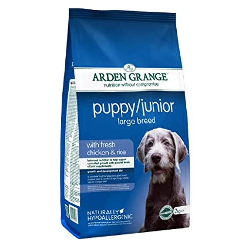 Arden Grange Puppy / Junior Large Breed - with fresh chicken and rice