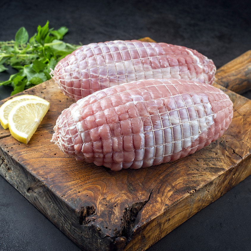 Heritage Turkey Breast (Brined & Raw)