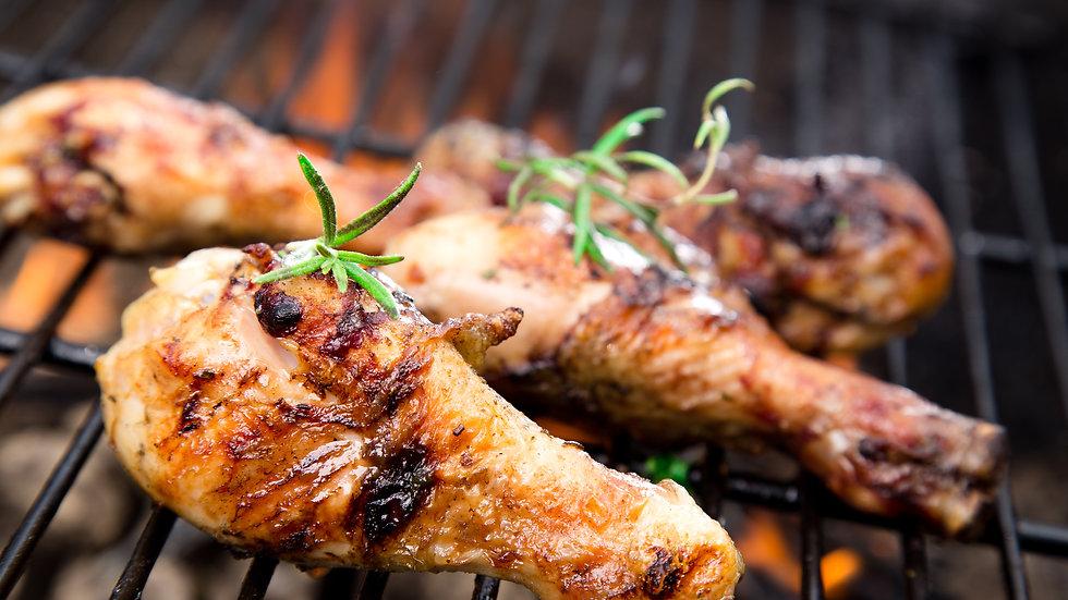 Brined & Smoked Chicken Drumsticks