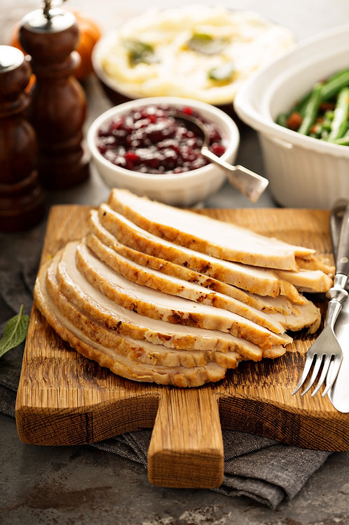 Sliced Herb Roasted Turkey Breast
