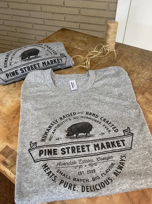 Pine Street Market Logo T-SHIRT