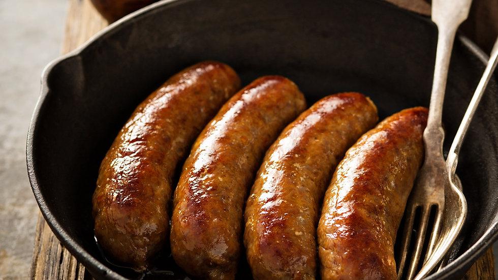 Smoked Chicken & Pork Belly  Sausage