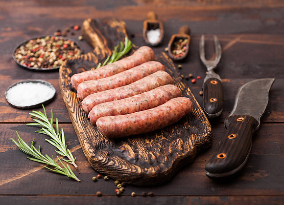 Spiced Pear Sausage