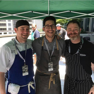 CHEFS DEMONSTRATE SUSTAINABLE USE OF WHOLE CHICKENS AT ATLANTA FOOD AND WINE FESTIVAL