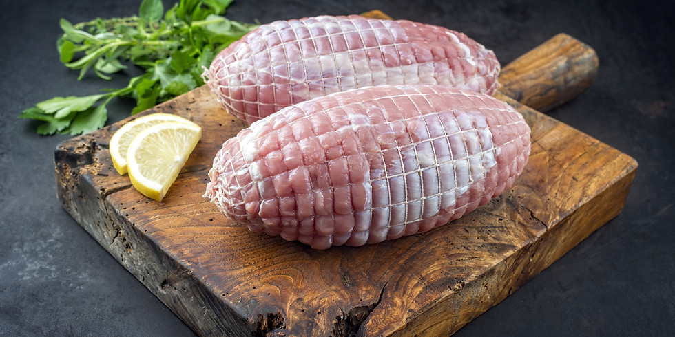 Heritage Turkey Breast, Brined & Raw
