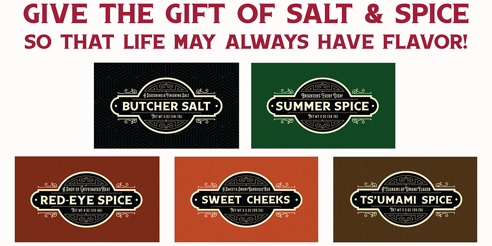 Pine Street Market Salt & Spice Blend Collection