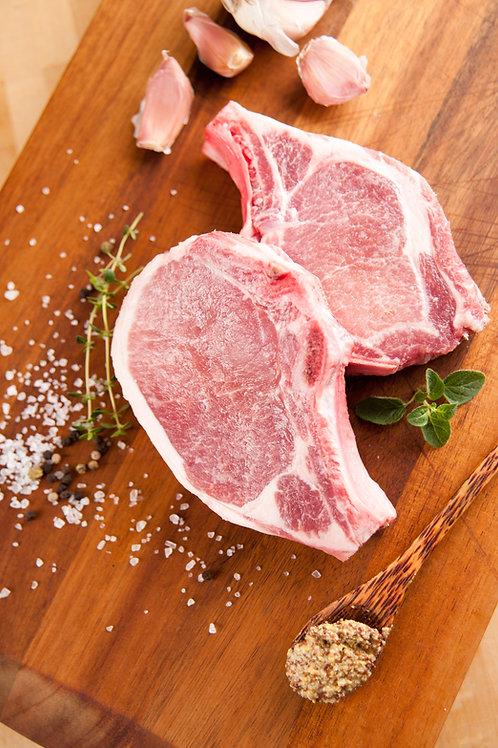 Bone-In Herb-Brined Pork Chop