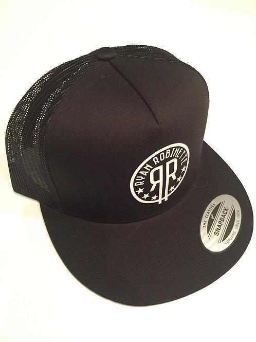 RR Logo Snapback (Black/Black)