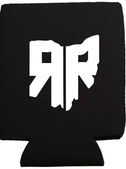 RR Ohio Logo Black Koozie