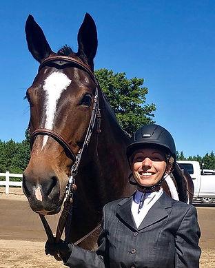 Meet Kingsway's biggest horse Savanna an