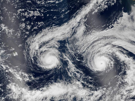 So if Covid-19 and a hurricane wasn't enough, how about Covid-19 and TWO hurricanes!?