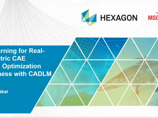 Webinar on demand: ML for Real Time Simulations, Optimization and Robustness with CADLM