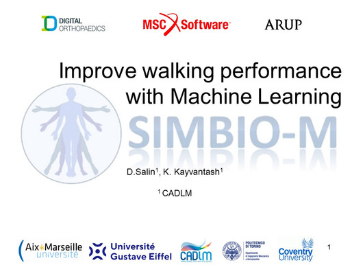 Technical: Improve walking performance with Machine Learning