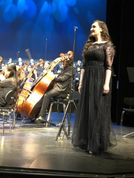 As Ursuline in Saint-Saëns' 'Ascanio