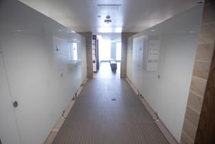 Shower Stalls in Locker Rooms
