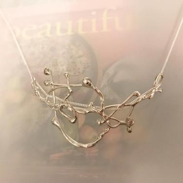 Argentium Silver Pendant