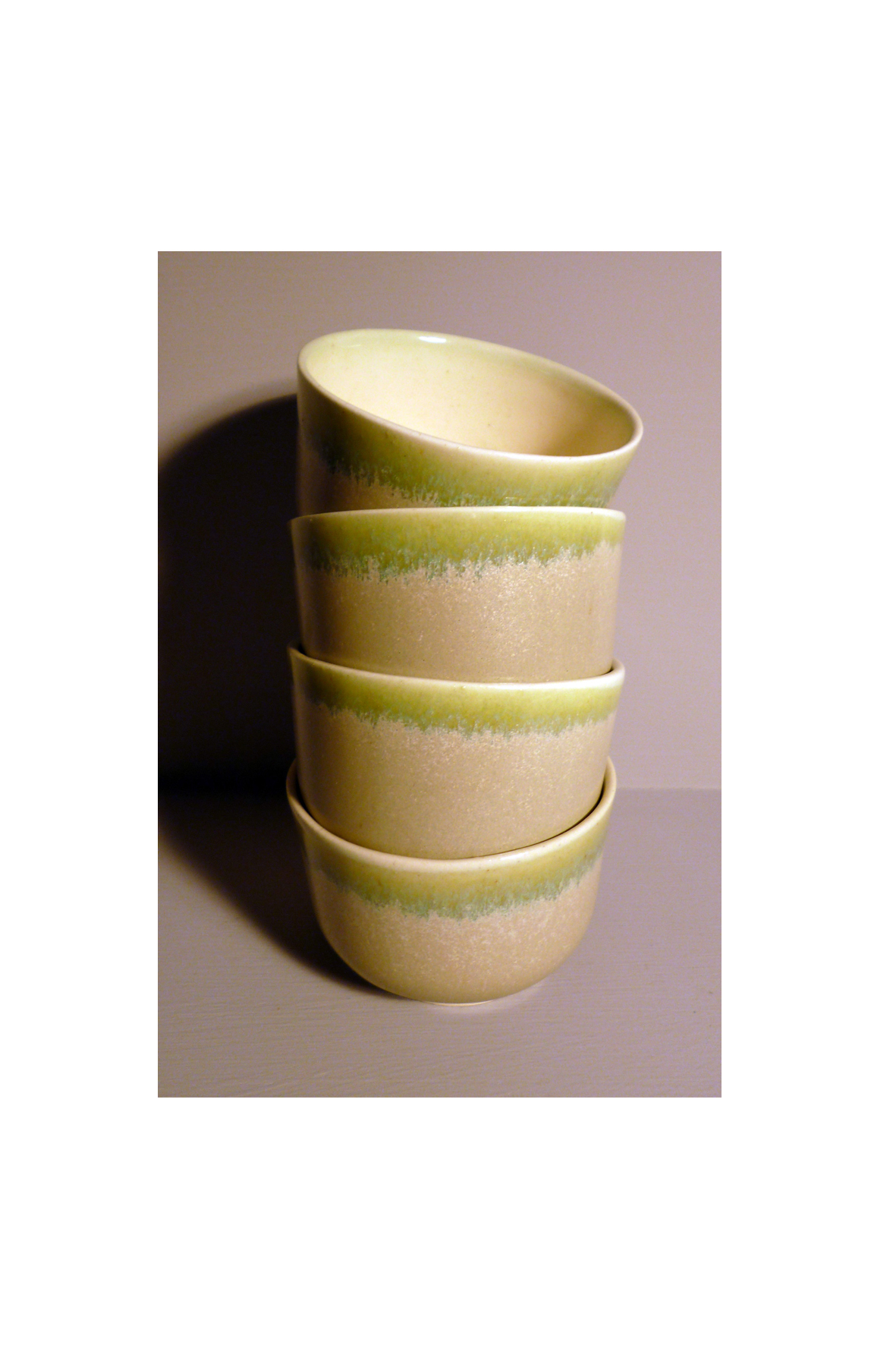 Set-of-4-Small-Bell-Bowls-in-Sage-Green