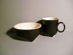 Breakfast Set in Graphite-Black