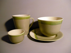 Bell Bowl Dining Set in Sage Green