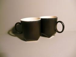 2-x-350ml-Geo-Mug-in-Graphite-Black