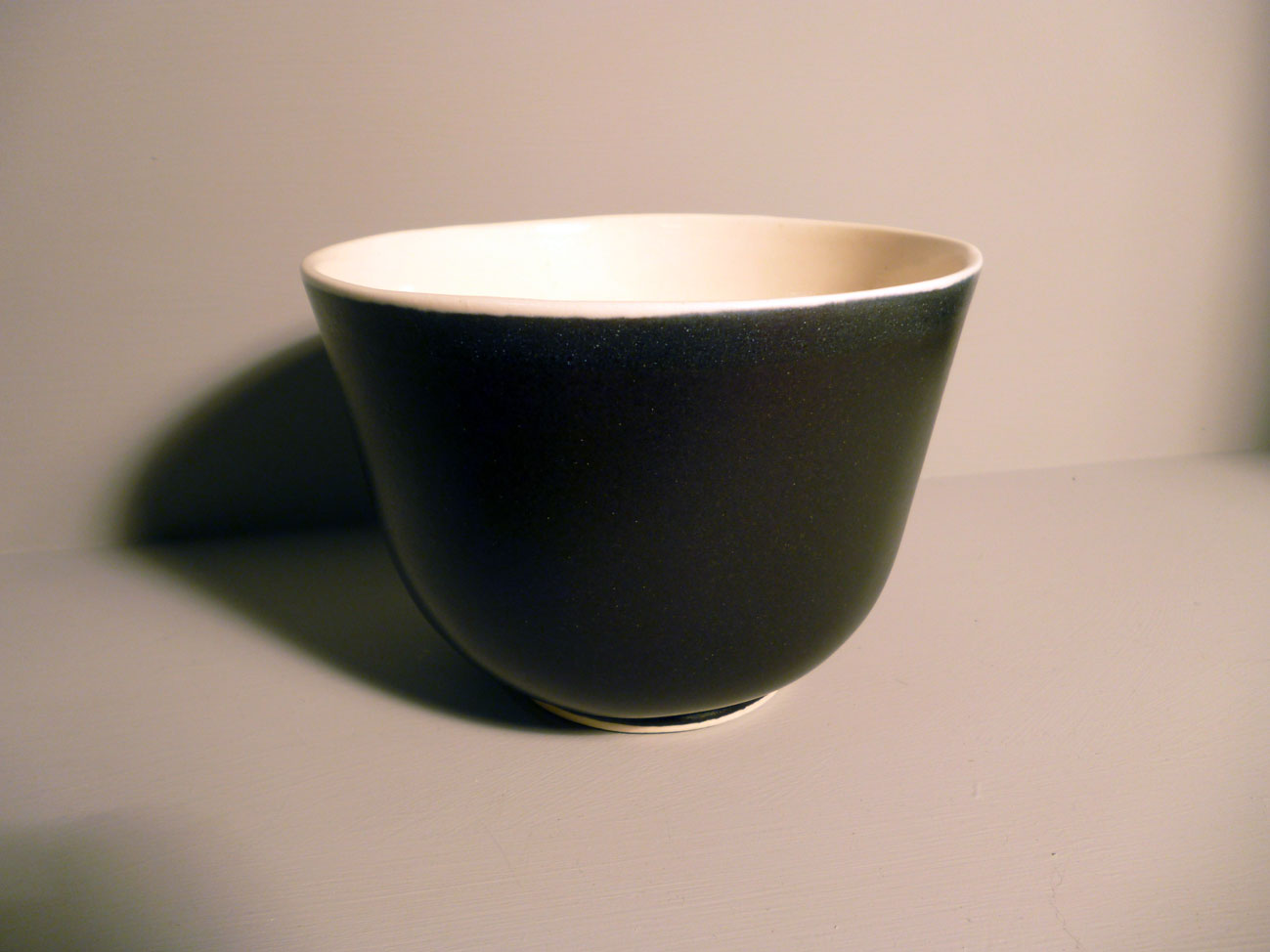 Bell Bowl 13.5cm Dia in Graphite-Black