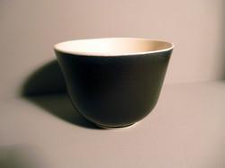 Bell Bowl 13.5cm Dia in Graphite-Black