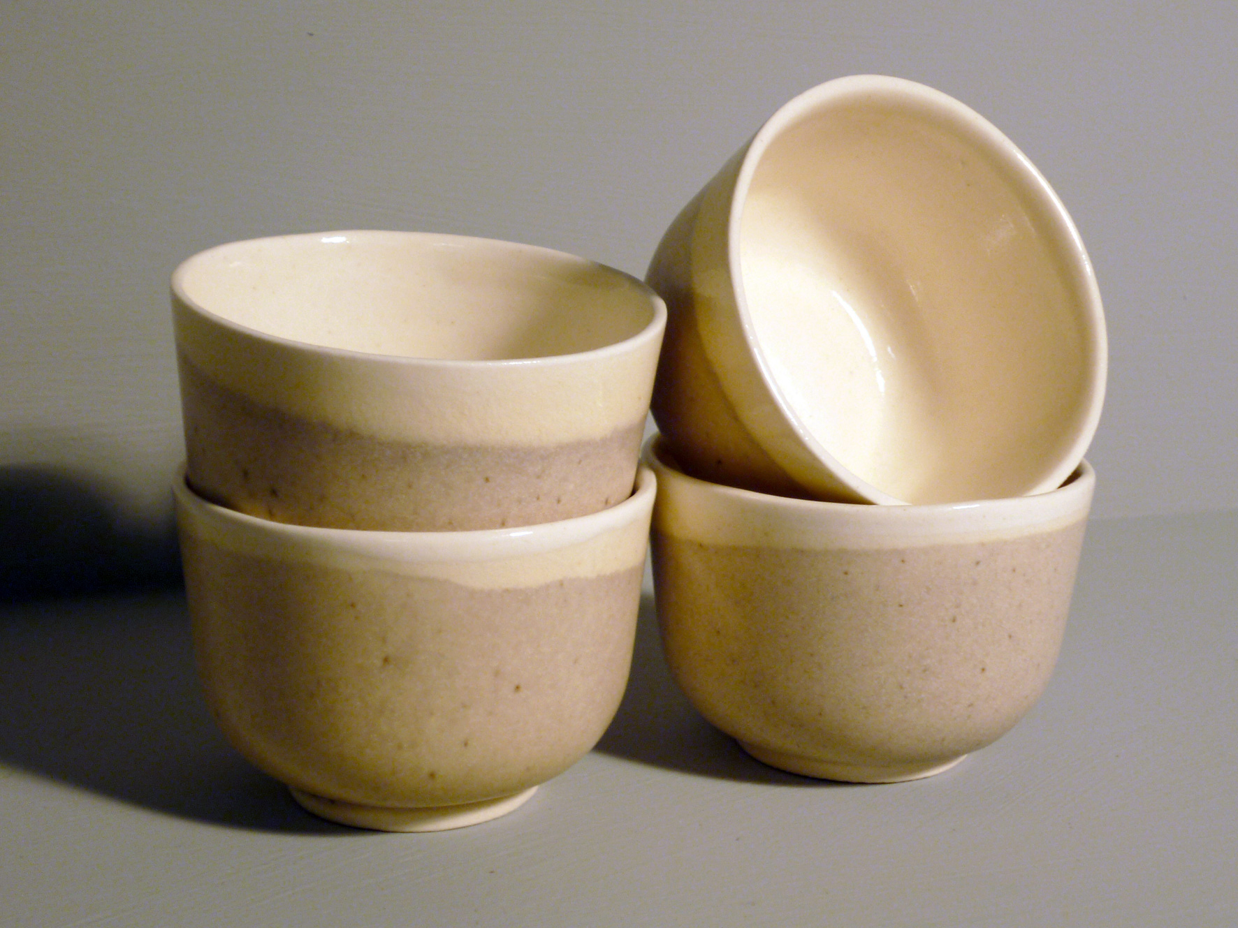 Set-of-4-Small-Bell-Bowls-in-Ochre