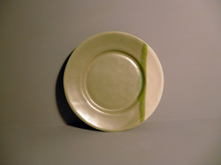 Bell Bowl Plate in Sage Green