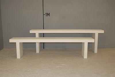 fashion show benches