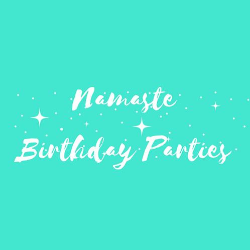 Namaste Birthday Parties